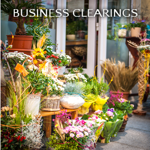 image of front of a business to represent Business Clearings link