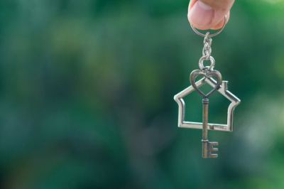 Earth Release Home & Property Clearings image of house key ring